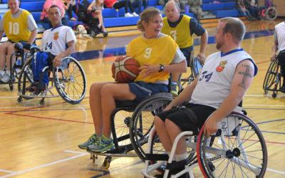 Eventos, competiciones recreativas, actividades y juegos de animación físico-deportiva y recreativa para usuarios con discapacidad física