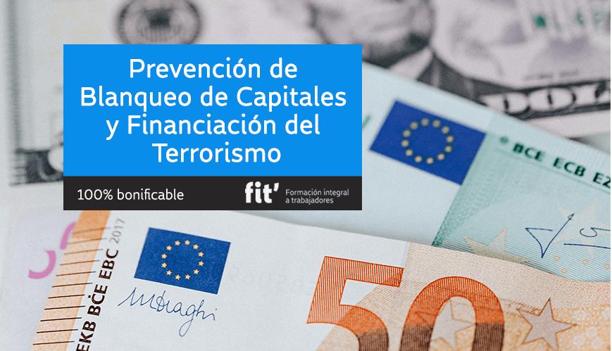 prevención blanqueo capitales y financiación del terrorismo formación online bonificable