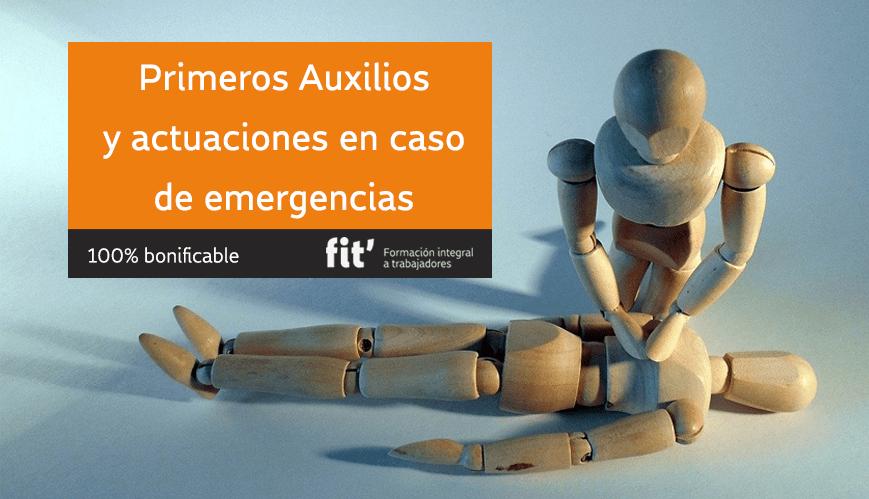 primeros auxilios formación certificación obligatoria para empresas prevención y emergencias