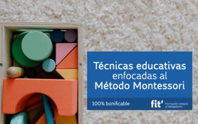 Técnicas educativas en el Método Montessori