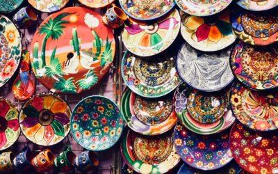 Esmaltado de productos cerámicos artesanales