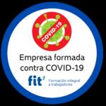 Formación específica COVID-19 y certificación empresa