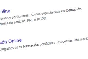Google eliminará resultados de páginas de escritorio