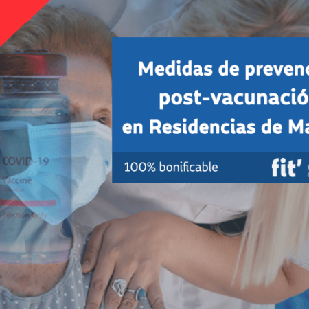 Medidas de prevención post-vacunación en Residencias de Mayores