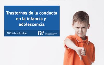Trastornos de conducta en la infancia y adolescencia